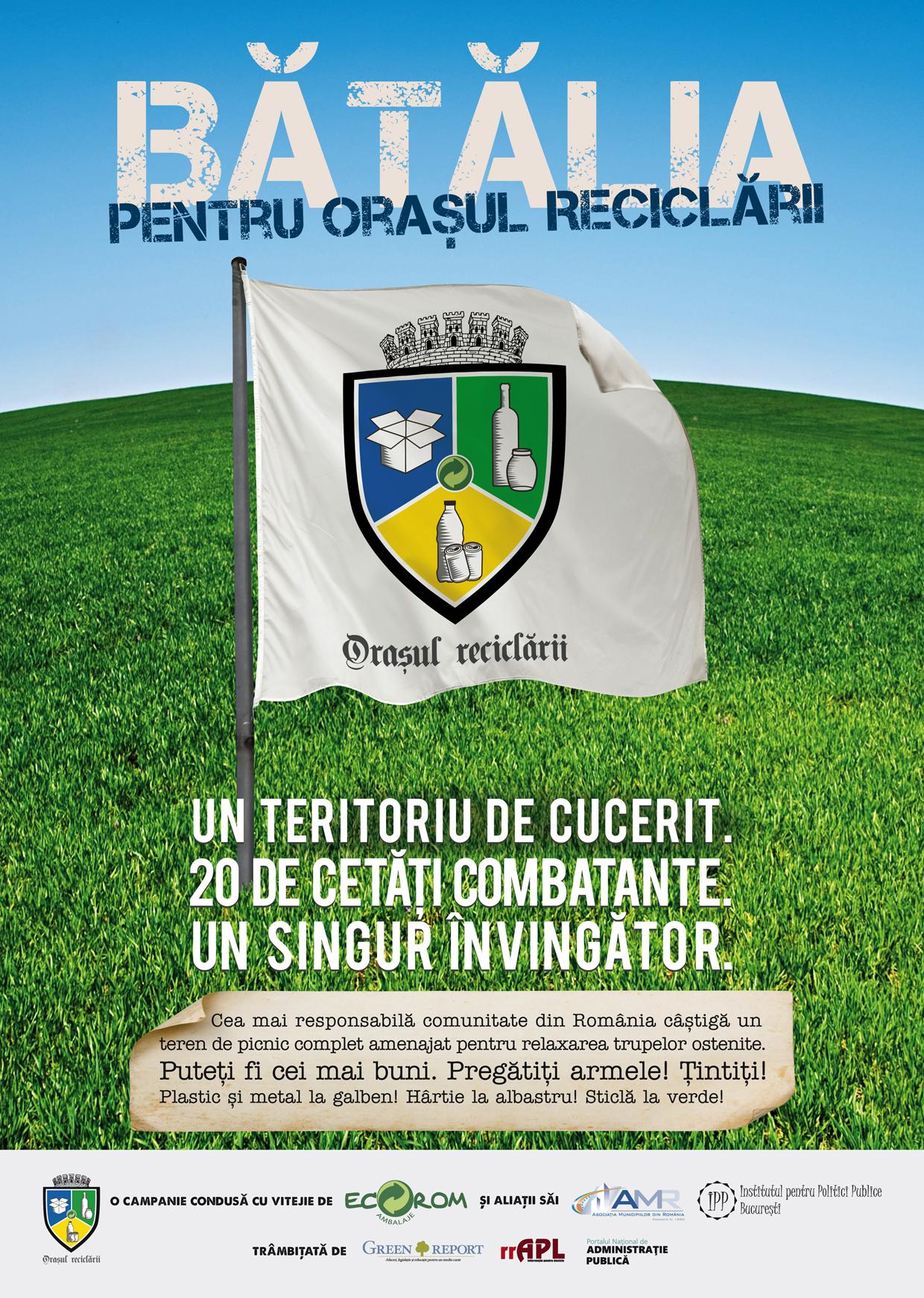 ECR 05 poster orasul reciclarii 420 X 594 mm 5 mm bleed