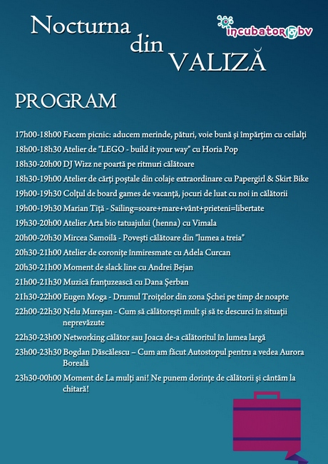 Nocturna din valiza program