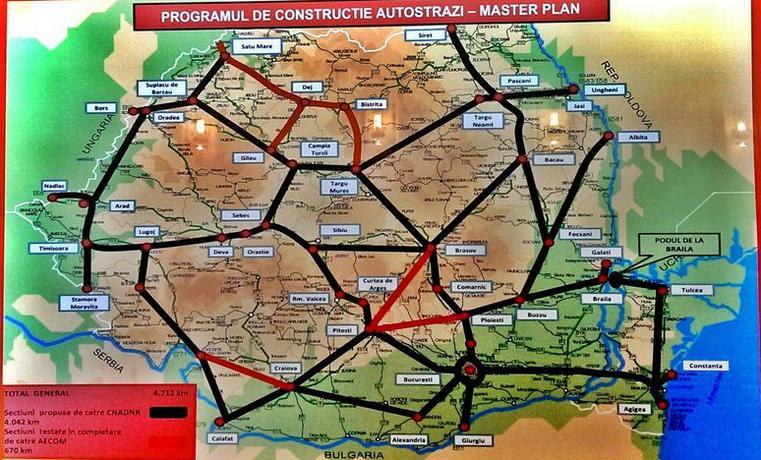 Harta Autostrazilor Doar Pe Hartie Romania E Rușinea Europei La