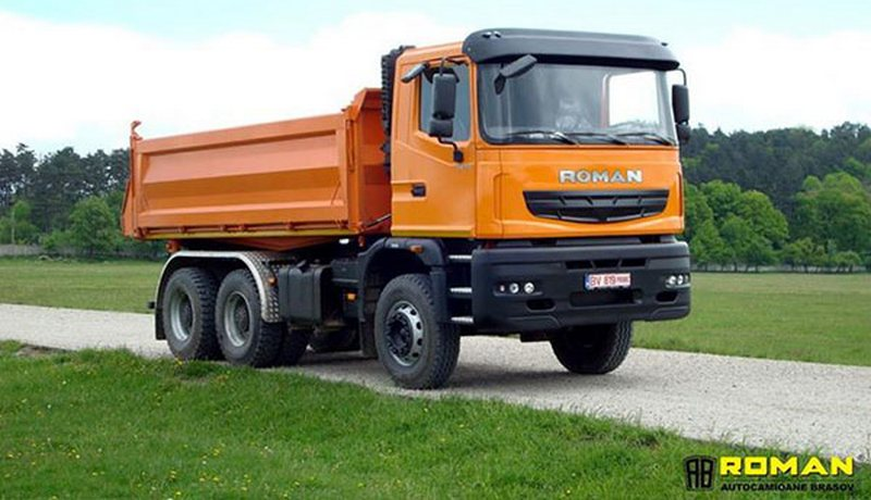 camioane roman