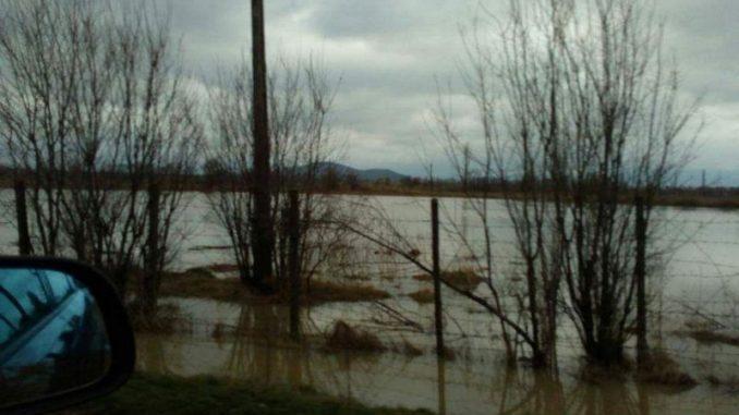 Inundații la Bod