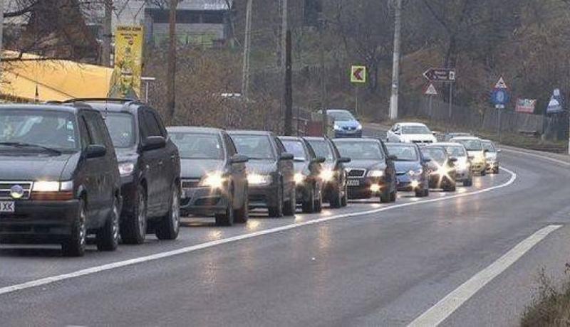 DN1_trafic blocat