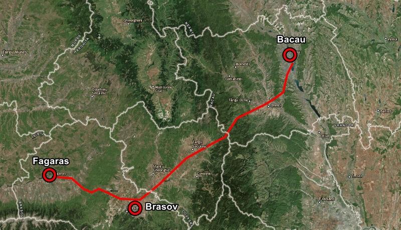A13 Bacău – Brașov – Fagaras