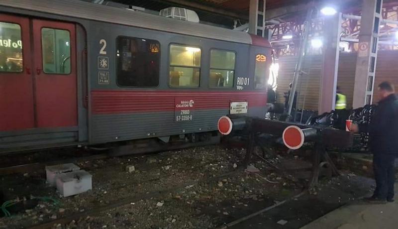 tren deraiat gara de nord