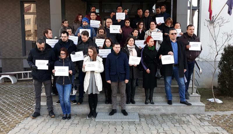 procurori protest