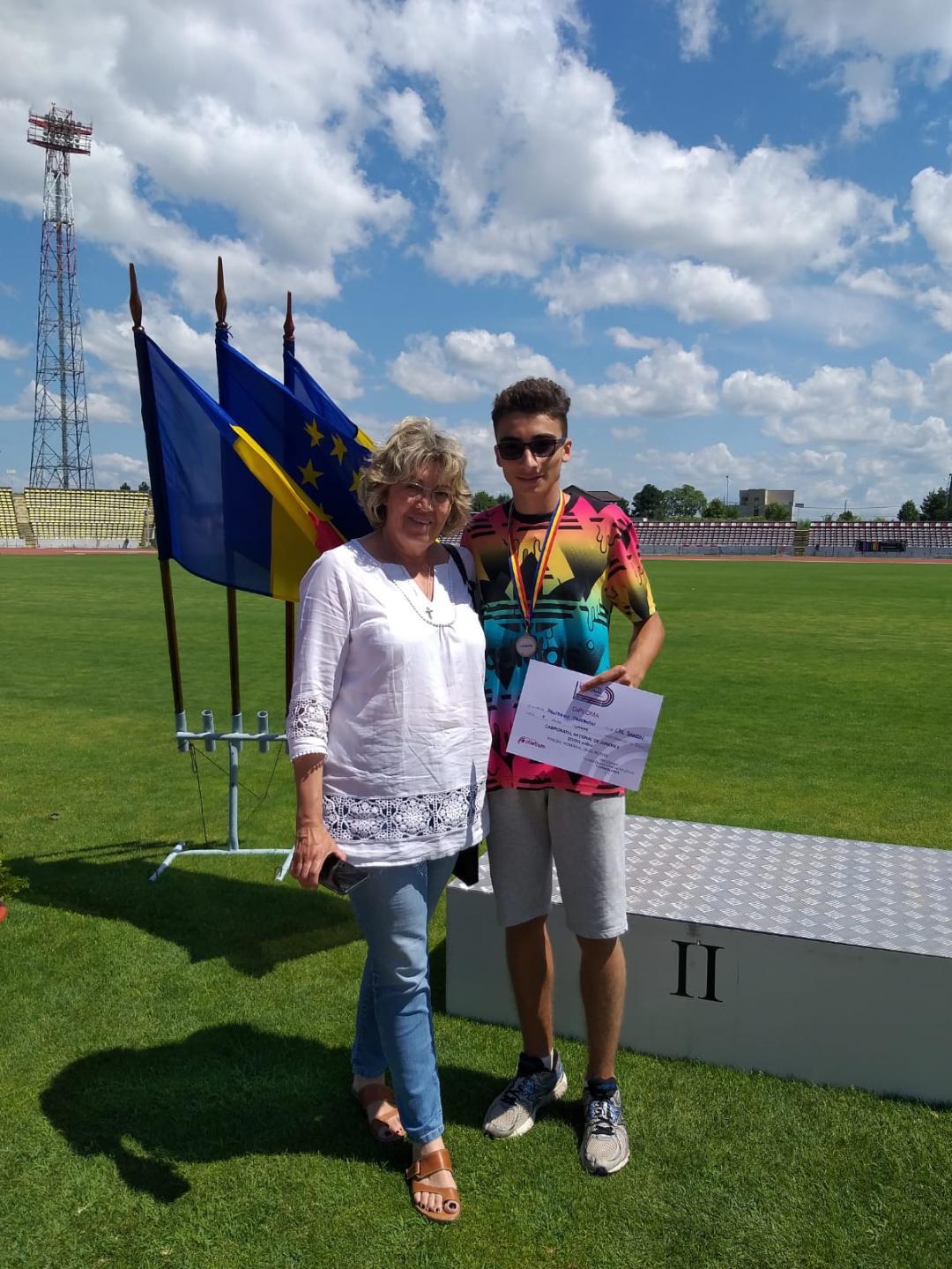 Raul Pruteanu Vicecampion atletism (4)