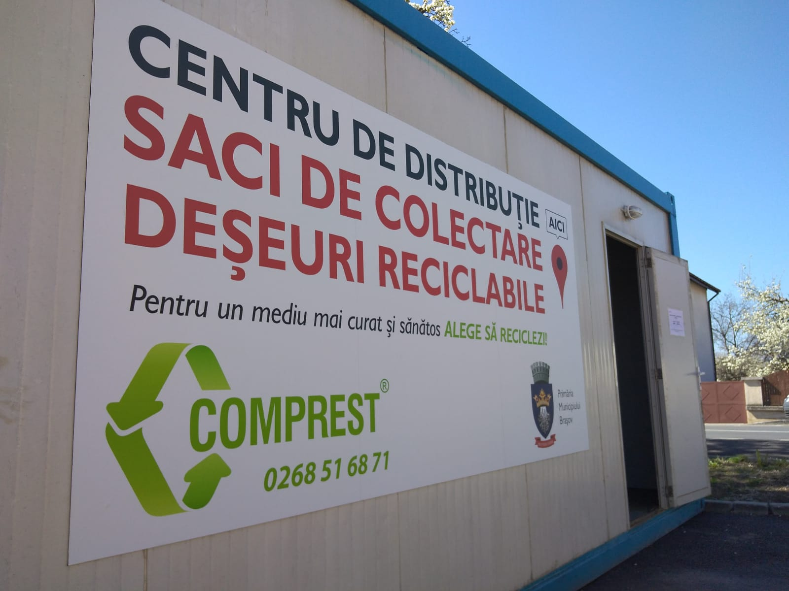 Centru distributie saci Comprest Stupini 1