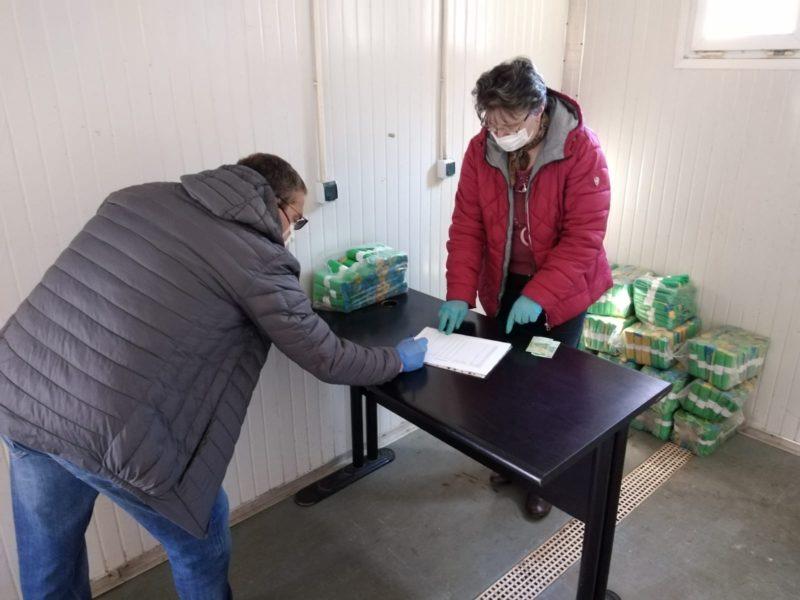 Centru distributie saci Comprest Stupini 2