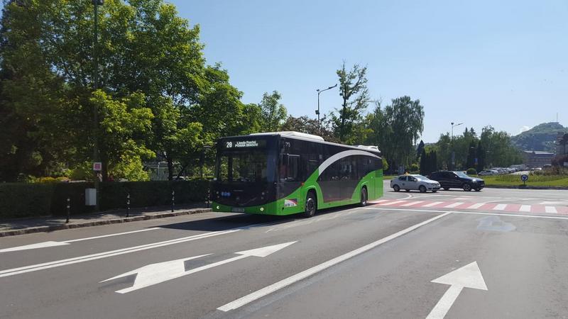 Circulaţia autobuzelor pe linia 20 va fi suspendată temporar